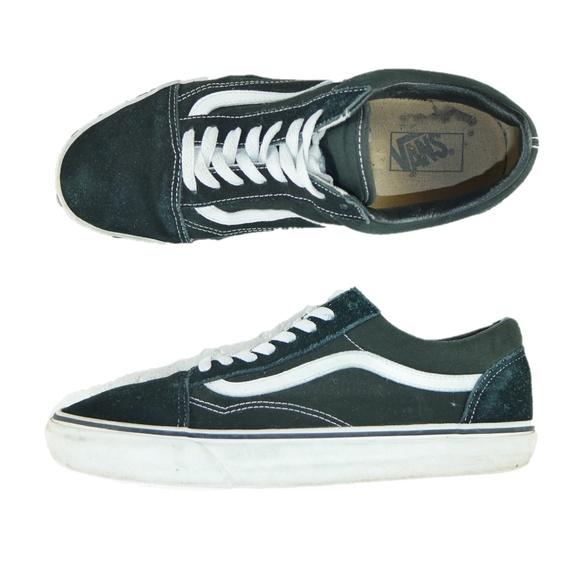 40af22db615c86 Vans Off The Wall Canvas Skater Shoes Mens Sz 11